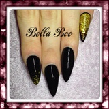 🎄 Black & Gold Glitter🎄