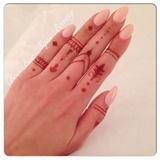 💅 Light Pink Gel Polish With Henna 💅