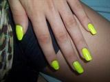 Amarelo neon.