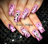 Pink Foiling