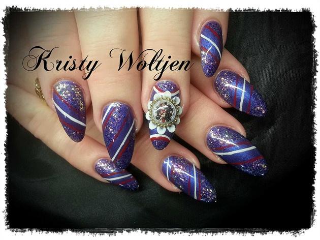 Purple Snow Globe Feature