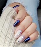 Mermaid Chrome Nails