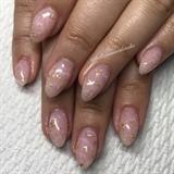 Rose Quartz Nails