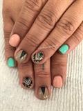 Short Nail ❤️ Tribal Art
