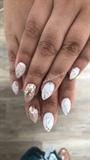 Soft Marble X Sparkle X Nail Art