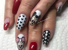 nail art: Disney Love