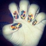lava nails
