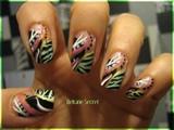 Green Zebra Cross