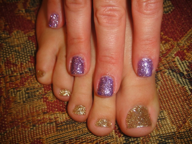 glitter gels