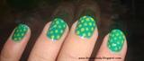 Green dots!