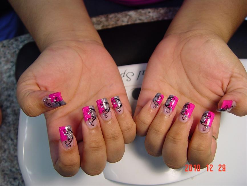 benson fantasy nails & hair,sa, tx - Nail Art Gallery