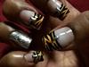 Yellow And Black zebra Prints