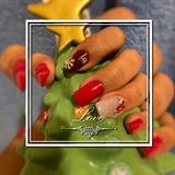 December Nail Art