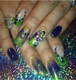 Mardigras nails