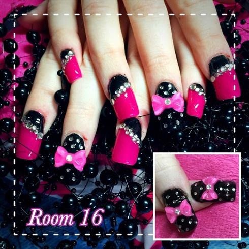 Pretty In Black & Pink