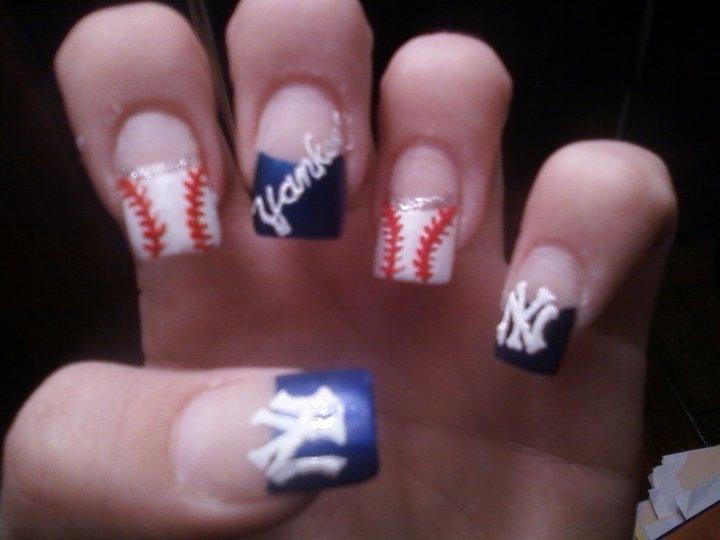 Baseball Nail Art Tutorial - Nails - Nail Polish, Nail Colour ...