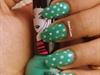 dots with indian nail polish