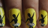 ballerina nail art