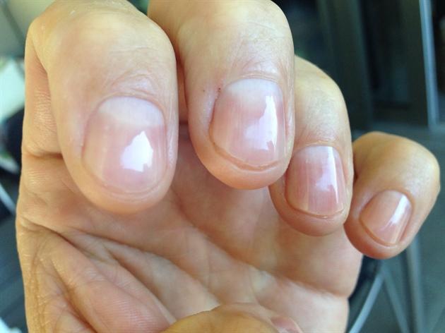 My Polished Bare Nails