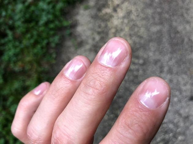 My polished nature nails