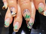 Viva la Mexico! Acrylic nails