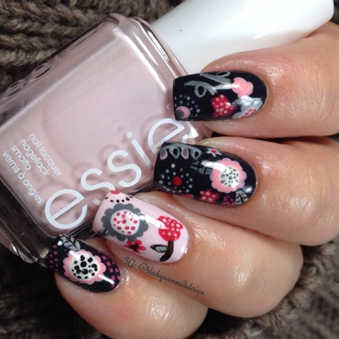 Floral Fall Dots