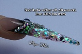 Swarovski, glitter & pearls