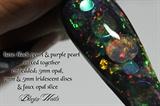 faux opal slice & Australian opals