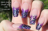 glitter nails!