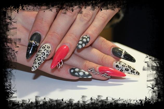 Pin Up Rockabilly Nails Nail Art Gallery