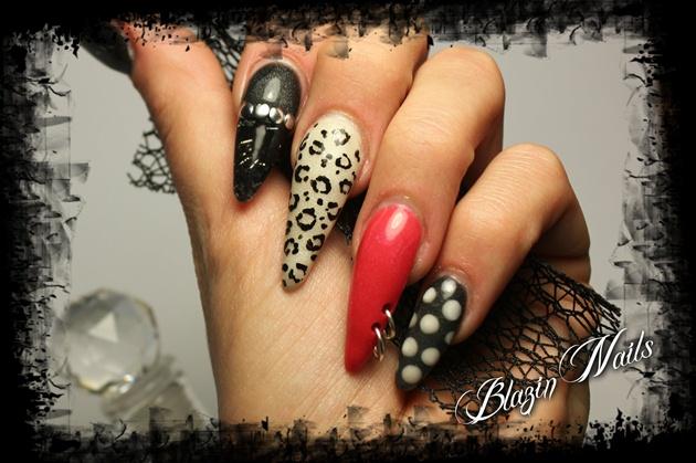 Pin Up Rockabilly Nail Art Gallery