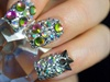 Full Crystal Nails