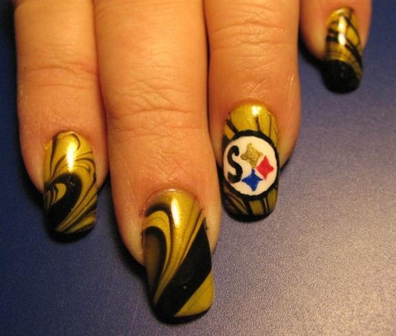 Steelers Nail Art Gallery
