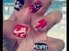 Grell Inspired Nail Art