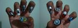 Animes Inspired Nail Art