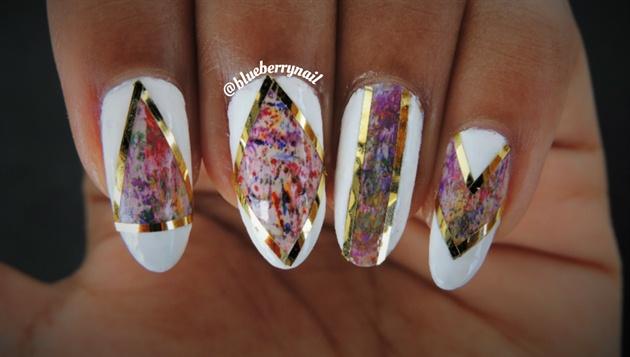 Dry brush nails
