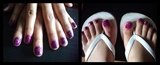 purple zebra prints
