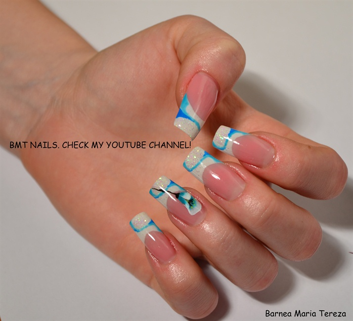 UV gel nail design - Nail Art Gallery