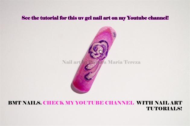 Uv gel tutorial on my youtube channel
