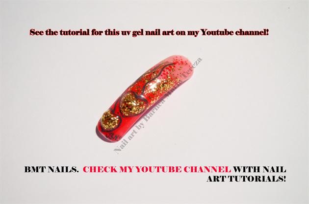Uv gel liquid stone tutorial on my youtube channel!