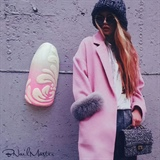 Pink White Gradient