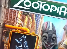 nail art: Judy Hopps, Zootopia
