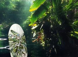 nail art: Palm Leaf
