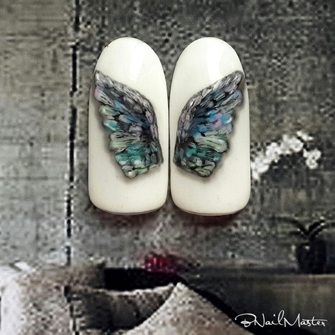 Wings Nail Design Video Tutorial
