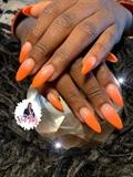 Orange Ombré