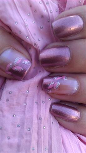 Leafin it pink