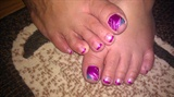 magenta toes (Inspired by Anart