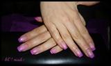 glitter pinky