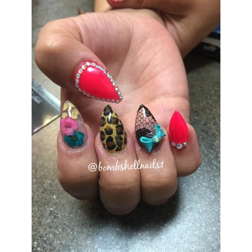 Encapsulated Nails