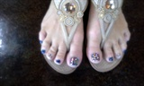 pedicure nail and design